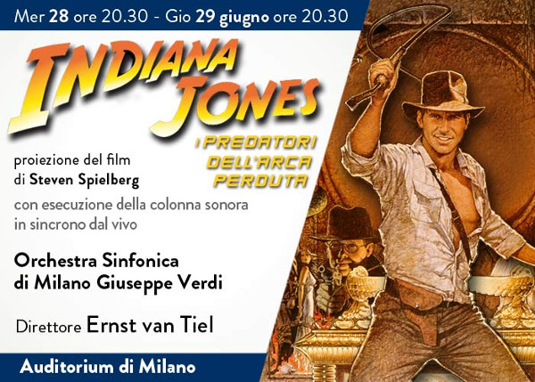 laverdi, indiana jones, milano