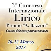 concorso lirico internazionale A. Bazzini